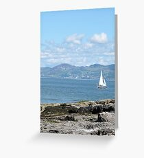 Boat Comes In Greeting Card