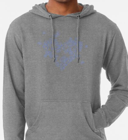 Forget-me-not Leichter Hoodie