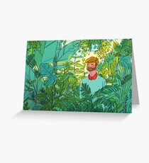 Rainforest Room Greeting Card