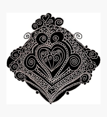 Wrought Heart Photographic Print