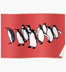 March of Penguins Poster