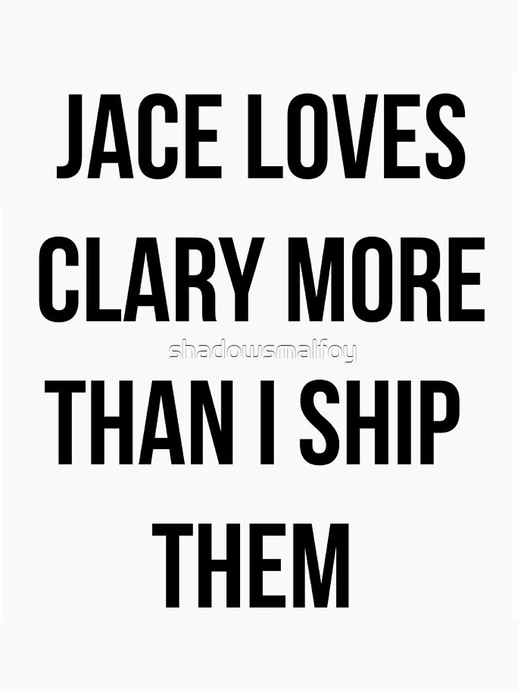 CLACE, CLARY AND JACE LOVE I Shadowhunters by shadowsmalfoy