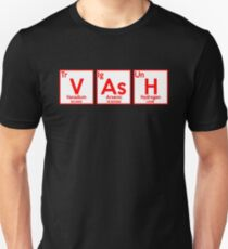 Vash Parody Periodic Table Anime Shirt Unisex T-Shirt