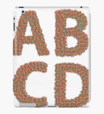 letters iPad Case/Skin