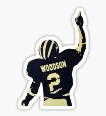 Charles Woodson Sticker