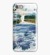 Abstract beautiful water fall iPhone Case/Skin