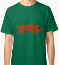 Badly Drawn Pups: Weenie Pup T-shirt classique