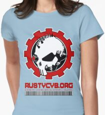 rusty cyborg 2 Womens Fitted T-Shirt