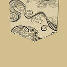 «Wave Pocket» de fjilustrador