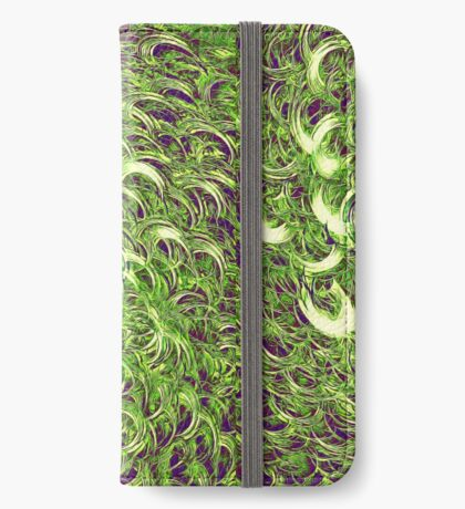 Hiding in fractal feathers iPhone Wallet
