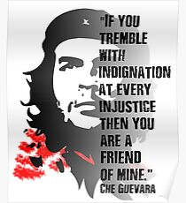 The Classic Che Guevara Vintage and Retro Revolutionary Quote Shirt. Poster