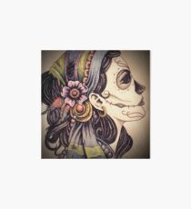 Day Of The Dead Gypsy Art Board