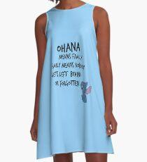 # 2 A-Linien Kleid