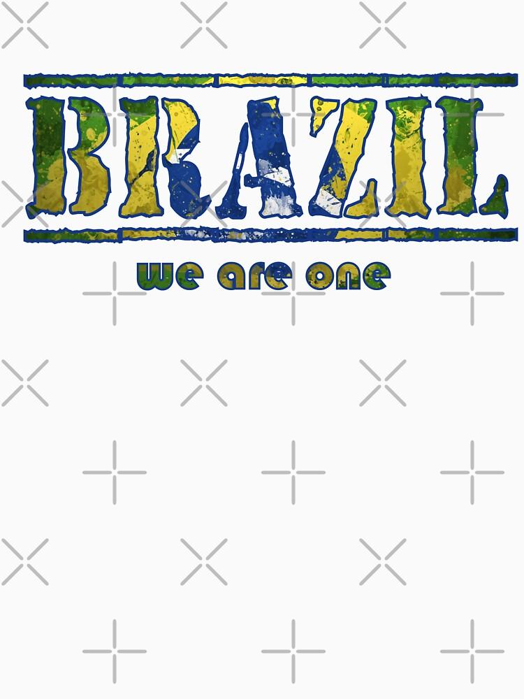 Brazil by inkstyl