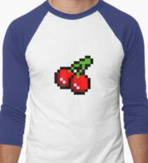 Cherries Men's Baseball ¾ T-Shirt