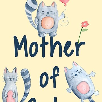 Cute Mother of Cats by MollySky