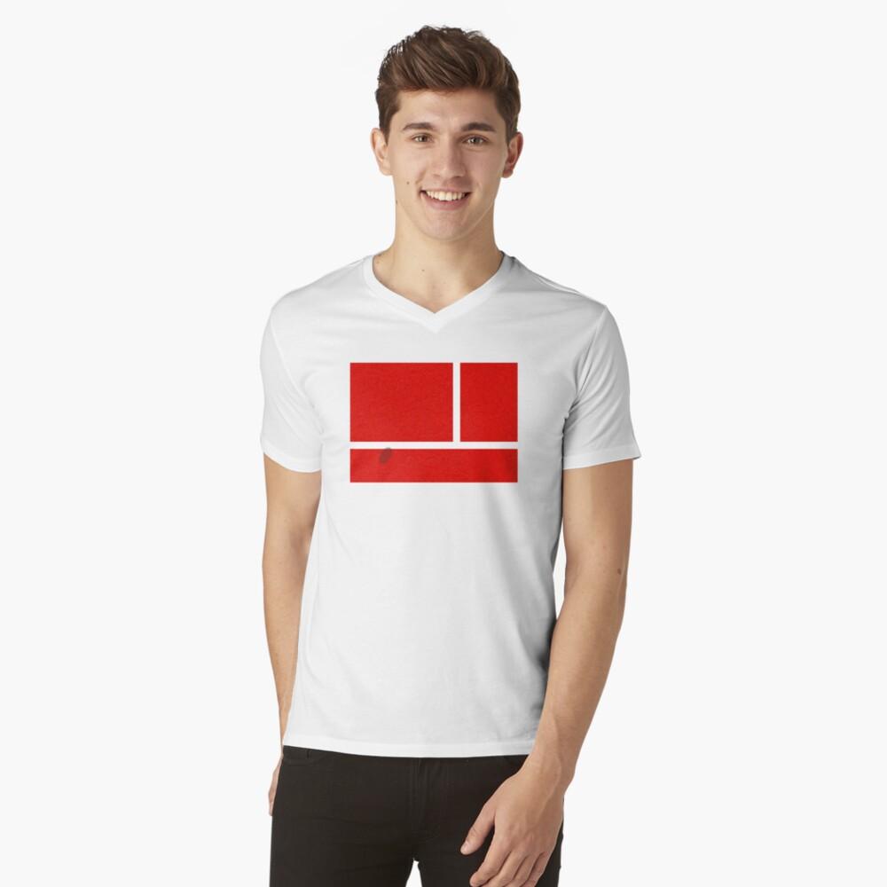 """IN"" - Falkenauge - Sand T-Shirt mit V-Ausschnitt"