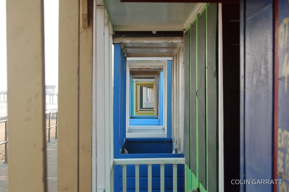 beach huts by COLIN GARRATT