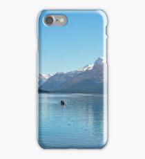 Serenity at Lake Maligne iPhone Case/Skin