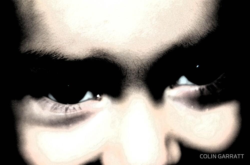 dark eyes by COLIN GARRATT