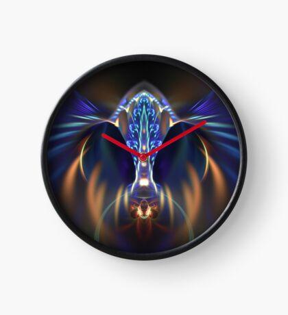 Extraterrestrial life #fractal art Clock