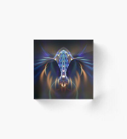 Extraterrestrial life #fractal art Acrylic Block