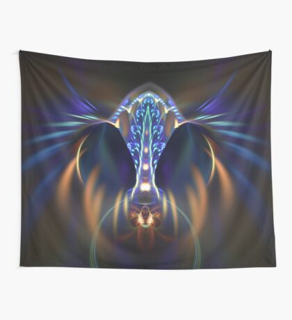 Extraterrestrial life #fractal art Wall Tapestry