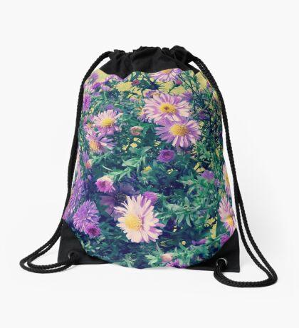 Dendranthema Drawstring Bag