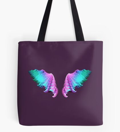 Wings #fractal art Tote Bag