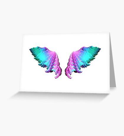 Wings #fractal art Greeting Card
