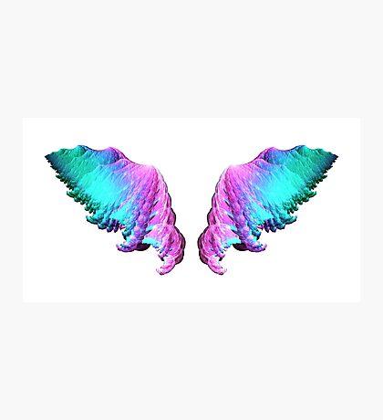 Wings #fractal art Photographic Print