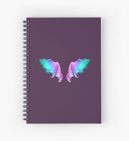 Wings #fractal art Spiral Notebook