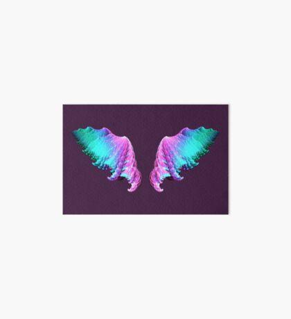 Wings #fractal art Art Board Print