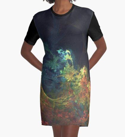The Storm #fractal art Graphic T-Shirt Dress