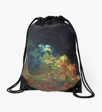 The Storm #fractal art Drawstring Bag