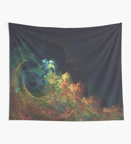 The Storm #fractal art Wall Tapestry