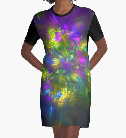 Five stars #fractals Graphic T-Shirt Dress