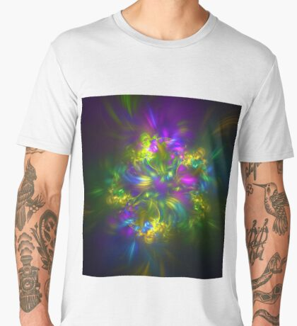 Five stars #fractals Men's Premium T-Shirt