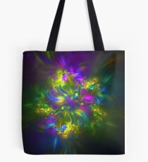 Five stars #fractals Tote Bag