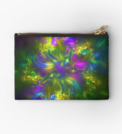 Five stars #fractals Zipper Pouch