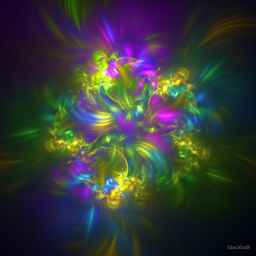 Five stars #fractals by blackhalt