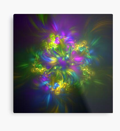 Five stars #fractals Metal Print