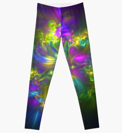 Five stars #fractals Leggings
