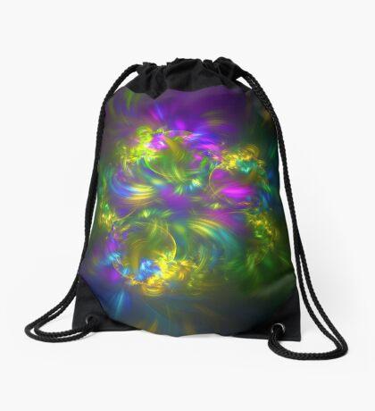 Five stars #fractals Drawstring Bag