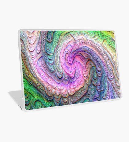 Frozen color Wave #DeepDream #Art Laptop Skin
