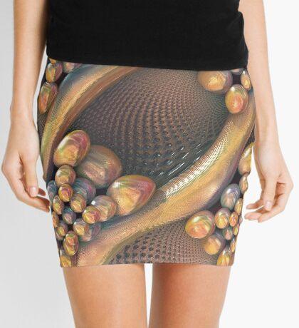 Golden #Fractal Mini Skirt