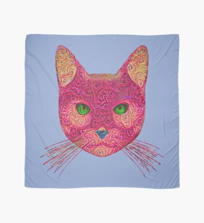 Rose Hungry Cat Scarf