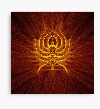 Alien Spider Canvas Print