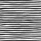 Ink Stripes Pattern  by meandthemoon