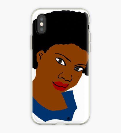 Lieben Sie Ihr schönes Afro-natürliches Haar-T-Stück iPhone-Hülle & Cover